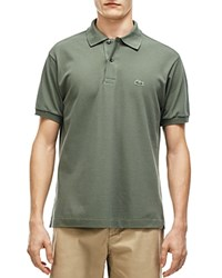 Lacoste Classic Cotton Pique Regular Fit Polo Shirt Army Green