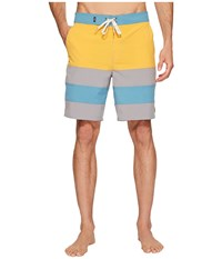 Vans Era Panel Boardshorts 19 Golden Glow Frost Grey Men's Swimwear Yellow