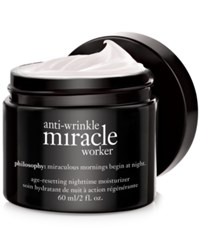 Philosophy Anti Wrinkle Miracle Worker Night No Color