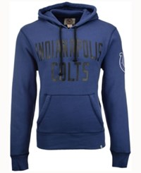 47 Brand '47 Men's Indianapolis Colts Crosscheck Hoodie Blue