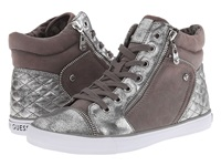 G By Guess Onay 2 Dark Grey Silver Women's Shoes Gray