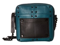 L.A.M.B. Inez Teal Cross Body Handbags Blue
