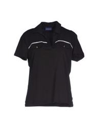 Trussardi Jeans Polo Shirts Black