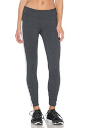 Solow Eclon Ankle Crop Legging Charcoal