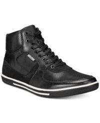 Unlisted Kenneth Cole Men's Crown It High Top Sneakers Men's Shoes Black