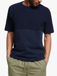 Les Basics Le Tee Sweat Short Sleeve T Shirt Navy