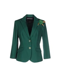 Cristinaeffe Suits And Jackets Blazers Women Green