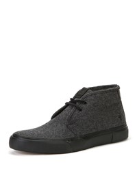 Frye Ludlow Chukka High Top Sneakers Charcoal