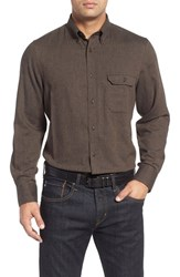 Nordstrom Men's Big And Tall Men's Shop Herringbone Sport Shirt