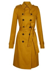 Hobbs Saskia Trench Yellow