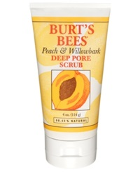 Burt's Bees Peach And Willowbark Facial Scrub