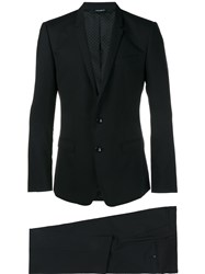 Dolce And Gabbana Formal Two Piece Suit Blue