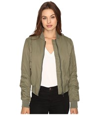 Billabong Lost In Time Jacket Seagrass Women's Coat Green