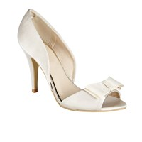 Ravel Shiloh High Heeled Open Toe Sandals Champagne