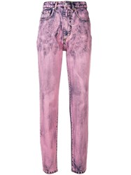 Fiorucci Two Tone Skinny Jeans Pink