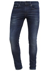 Boss Orange Slim Fit Jeans Navy Dark Blue