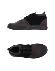 Fessura High Tops And Trainers Dark Brown
