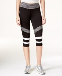 Material Girl Active Juniors' Cropped Leggings Only At Macy's Black