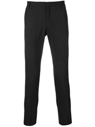 Entre Amis Slim Fit Tailored Trousers Blue