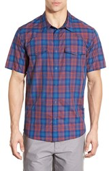 Men's Patagonia 'Bandito' Slim Fit Plaid Short Sleeve Sport Shirt