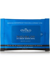 Eyeko Mascara Off Eye Makeup Remover Wipes Colorless