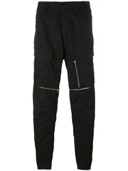 Stone Island Shadow Project Multi Zipped Track Pants Black