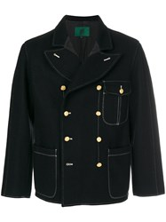 Jean Paul Gaultier Vintage Pointed Lapels Double Breasted Jacket Black