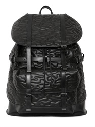 Neil Barrett Quilted Faux Leather Backpack