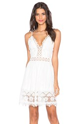 Toby Heart Ginger X Love Indie Daydreamer Crochet Mini Dress White