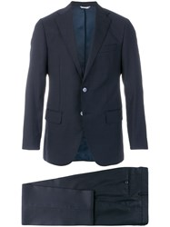 Fashion Clinic Timeless Two Piece Formal Suit Blue