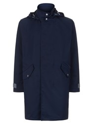 Lacoste Men's Hooded Waterproof Parka Navy Sealed