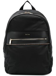 Paul Smith Signature Stripe Backpack Black