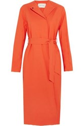 Cedric Charlier Trench Coats Red