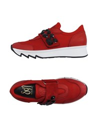 Sgn Giancarlo Paoli Footwear Low Tops And Trainers Women Red