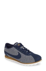 Nike Women's Cortez Ultra Se Sneaker Midnight Navy White