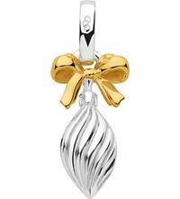 Links Of London Sterling Silver And 18Ct Gold Vermeil Drop Bauble Charm