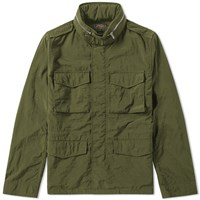 Beams Plus Garment Dyed M65 Jacket Green