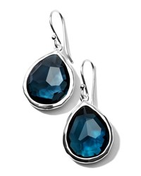 Topaz Teardrop Earrings Small Ippolita Blue