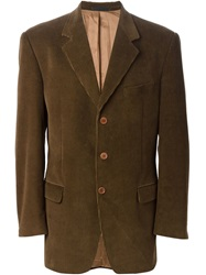 Burberry Vintage Corduroy Blazer Brown