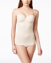 Maidenform Endlessly Smooth Firm Control Underwire Camisole Dm1006 Latte Lift