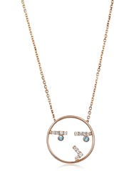 Ruifier Moyen Curious Gold Necklace Rose Gold