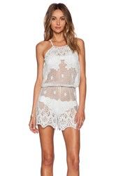 Miguelina Cicely Romper Mint