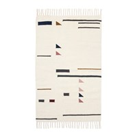 Ferm Living Kelim Colour Triangles Rug Small