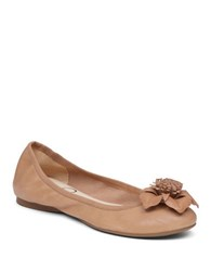 Jessica Simpson Marelda Leather Flats Buff