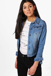 Zoe Western Denim Jacket