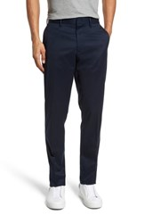 Nordstrom 'S Men's Shop Athletic Fit Non Iron Chinos Navy Eclipse