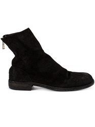 Guidi Ankle Length Boots Black