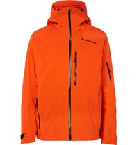 Peak Performance Heli 2L Gravity Gore Tex Ski Jacket Orange