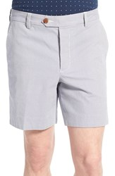 Men's French Connection Slim Fit Pinstripe Trouser Shorts