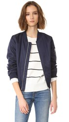 Bb Dakota Atwood Bomber Jacket Navy